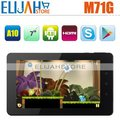Cheapest 3G Phone Call Tablet Aoson M71G S Capacitive built-in Bluetooth Dual Camera HDMI Android MID Phone tablets M71GS