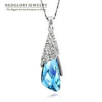 Neoglory Austria Crystal Rhinestone Necklaces & Pendants for Women Fashion Charm Wedding Jewelry 2014 New Brand Classic Elegant