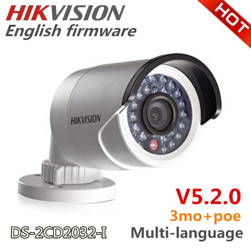 Ds- 2cd2032- je caméra. hikvision, 3mp mini bullet camera boisl/3d dnr& dwdr& blc, caméra réseau ip boisl/ir. ip66 et, caméra de surveillance, 3mp+poe