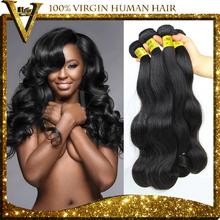 Unprocessed 6A Quality Brazilian Virgin Hair Body Wave Human Hair Extension 3Pcs Lot Cheap Wholesale Virgin Brazilian Hair Weave(China