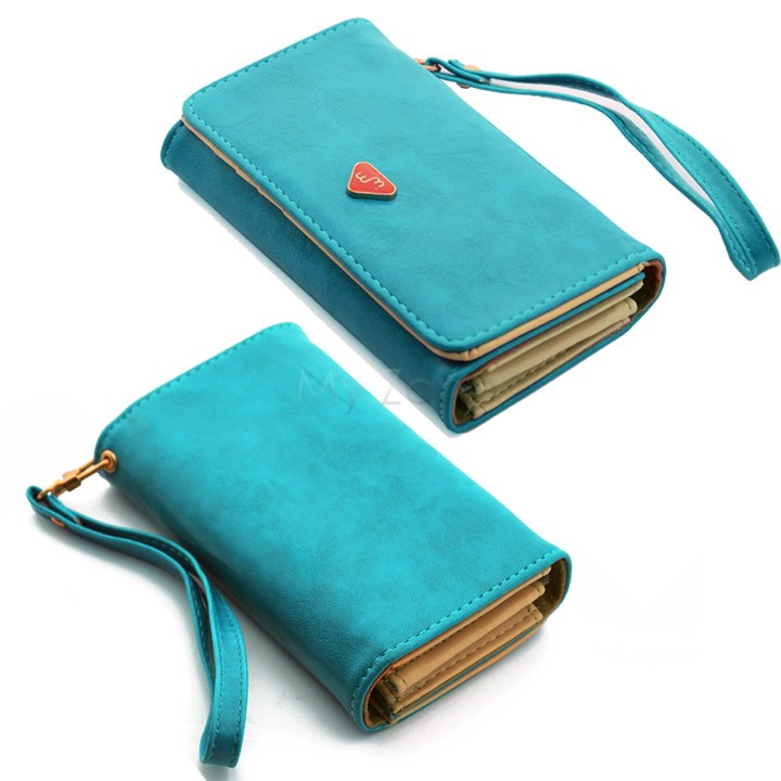 Promotion!2014 new multifunction women wallets, Coin Case purse for phone,Card Wallet Leather Purse b14 18282(China (Mainland))
