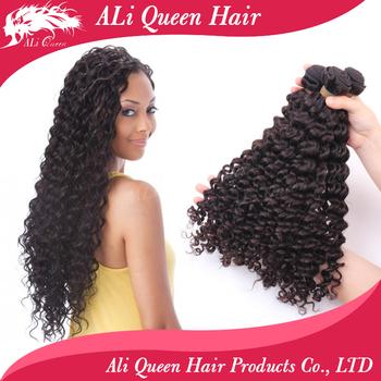 "6A Malaysian Deep Wave Hair 3pcs/Lot 12"" to 28"" Free Shipping Malaysian Deep Curly Virgin Hair Extension"