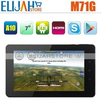 "Best Selling Aoson M71GS 3G Phone Call Tablet PC Allwinner A10 7"" HD Capacitive built-in Bluetooth and 3G,HDMI,Android 4.0"
