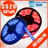 2013 Hot Free Shipping DHL 5M 3528 LED Waterproof Strip Light 300 LED DC 12V WarmWhite/White/Blue/Yellow/Red/Green fast shipping