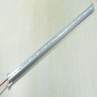 Free shipping ,high brightne waterproof led rigid 5050 72leds 17w 1008lm 1pcs 100cm with plastic cover 20pcs one lot