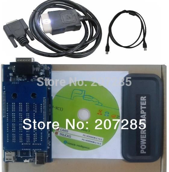 shipped by china post 2013.3 keygen on cd version R3 Quqlity A TCS SCANNER plus pro(China (Mainland))