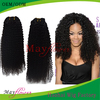 Raw Unprocessed Virgin Cambodian Hair Machine Wefts Tight Kinky Curl Free Shipping 3-4 bundles a lot Human hair Extensions