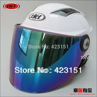 Free shipping 4 colors  visor Motorcycle  scooter helmets   ,Half face helmets,safely half helmets
