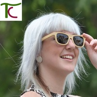 Sun glasses for men and women polarized retro new fashion wooden sunglasses high quality vintage bamboo frame in stock (ZA03)