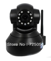 WIFI camera IP, indoor home security, 1megapixel, 720P, PnP,  tilt/pan, wifi, two-way audio, support max 32G TF card, 10m IR