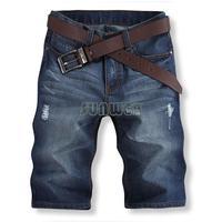 2014 In Stock Italian Famous Brand Shorts Jeans Men,Casual Short Pants Men,Fashion Denim Jeans Shorts Men #7 SV003937