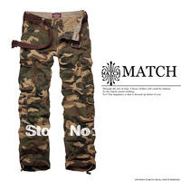 wholesale matchstick men's camouflage cargo pants military cargo pants 3316M