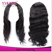 Big Sale!!!15% OFF Fashion Body Wave Brazilian Remy Hair Wig,Alixpress Yvonne Human Hair Front Lace Wigs,Color 1B Women's Wig