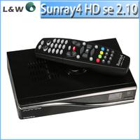 Satellite TV Receiver Sunray sr4 Dm800hd se Triple tuner S(S2)/C/T2 Enigma2 300Mbps WIFI sunray4 DVB DHL Free Shipping