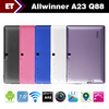 7&quot; Q88 tablet pc allwinner A13 1.2GHz Android 4.1 WIFI 512MB RAM 4GB Dual camera 2160P Capacitive Multi touch