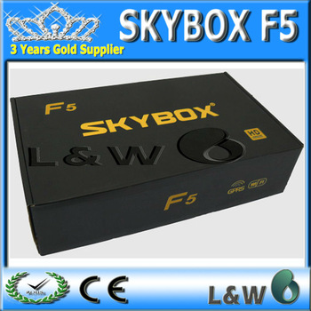 Skybox F5 HD Original full 1080p Skybox F5 satellite receiver support usb wifi youtube youpron free shipping