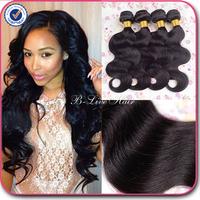 Brazilian virgin hair body wave 4 pcs lot brazilian body wave natural black hair brazilian hair weave bundles human hair weave