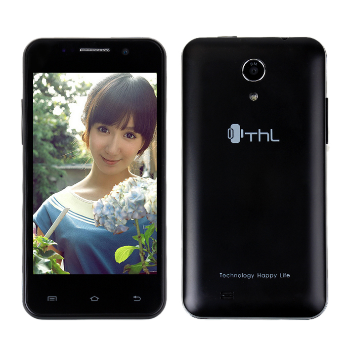 Hot Selling New THL W100 Android Phone 4.2 Os W100s MTK6582M Quad Core 1.3GHz 4.5'' Screen 8.0MP Dual Camera Add Gifts(China (Mainland))