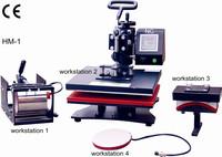 Heat Transfer/Press Machine,HM Printer,Print Fabric,Non woven,Textile,Cotton,Nylon,Terylene,Glass,Metal,Ceramic,Wood,L300*W300mm