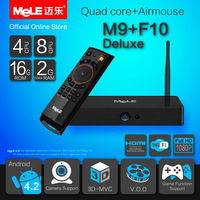 Quad Core Mini PC Android TV Box Android 4.2 MeLE M9 Cortex A7 2GB RAM 16GB ROM 4K Video 1080P HDMI WiFi Media Player & MeLE F10
