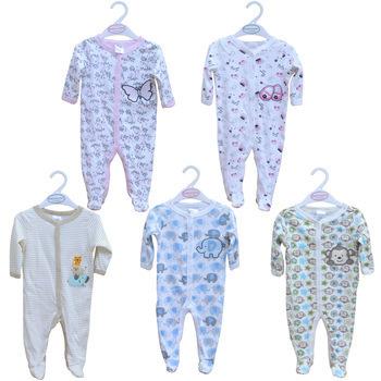 Children Pajamas Newborn Carter Babywork Baby Clothes Romper Animal Infant Cotton Long Sleeve Jumpsuit Unixes Spring Autumn Wear