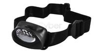 Head light 5 LED white Hiking Head Lamp waterproof Flash Light Super Bright  dropshipping 372