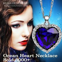 Neoglory Titanic Ocean Heart