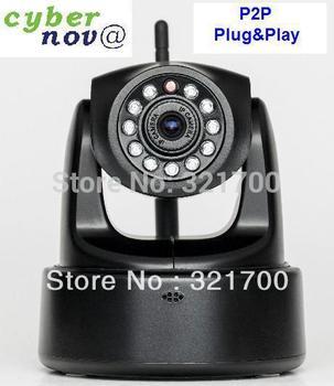 Cybernova CN-WIP604MW HD MegaPixel 720P Pan/tilt H.264 wireless IP Camera support 32GB SD card storage+ WIFI+P2P plug&play+alarm