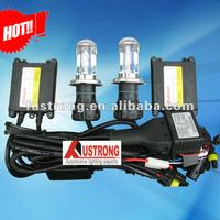 Best price slim hid kit h4 bi xenon h/l beam xenon light 12v 35w car lamp h13 9004 9007 H/L Beam bi xenon free shipping