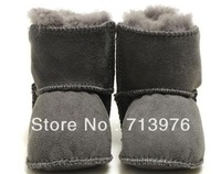 Free shipping!Australia sheepskin baby fur boots,baby soft sole/prewalker,baby snow boots/wool boots,0-12 month