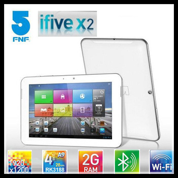 FNF Ifive X2 Tablet PC 8.9 Inch IPS Retina Screen 1920x1200 RK3188 Quadcore Android 4.2 Bluetooth 2G ram 16GB Preorder
