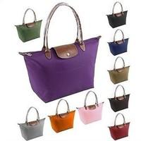 Wholesale Women' Leather Handbags Ladies Designer Totes Shopping Bag Nylon WaterProof Candy Female Fashion Beach Shoulder Bags