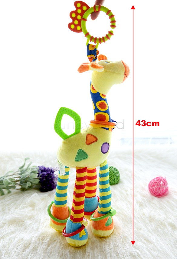 2014 new infant Baby Toys crib revolves around the bed stroller playing toy car hanging baby Rattles toys Mobile 10(China (Mainland))