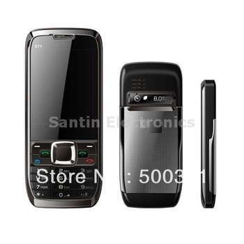 Unlocked GSM  Dual SIM Quad Band Mini E71 TV Mobile Phone mpE71z0d2