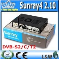 Digital Satellite Receiver Sunray4 2.10 sr4 2.10  Sunray HD SE SR4 800SE Triple tuner Enigma2 DVB S(S2)/C/T2 300Mbps WIFI