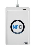 ACR122u NFC Reader Writer 13.56Mhz Rfid Reader+5 Pcs Rfid IC Card+CD Software Support Android Linux Windows