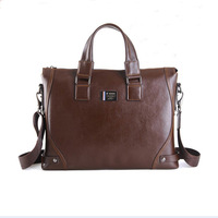 genuine leather bags man portfolio shoulder bag,leather briefcase men brown fashion ipad computer handbags,a4 suitcases,z100