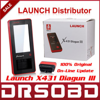 [Launch Distributor] 2014 Professional Auto Scanner Launch X431 Diagun III + BST460 Batter Tester Diagun 3 Free Online Update