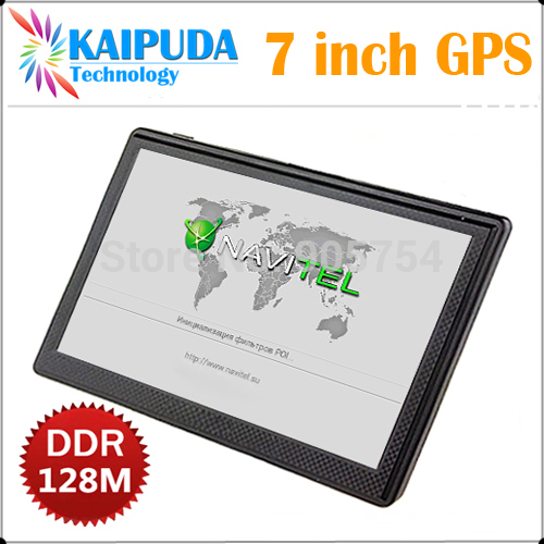 7 inch gps navigation,HD,MTK,DDR128M/4G,FM,Russian\Hebrew\Arabic\Thai\Turkish,Navitel7.5.0.202(Russia\Ukrain