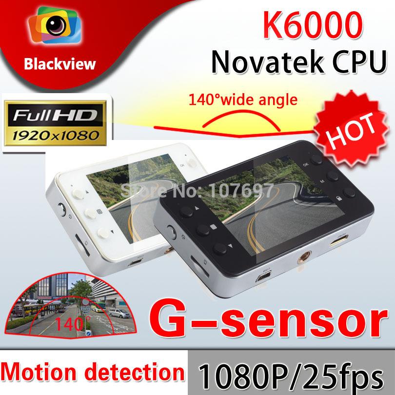 K6000 Car Camera Novatek Chipset Car Video Recorder FHD 1920*1080P 25FPS 2.7 inch TFT Screen with G-sensor Registrator Car DVR(China (Mainland))