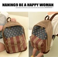 2014 Unisex US/UK Flag Bag School Bags Backpacks travel bags women bag women backpack Casual women backpack SV18 SV008572
