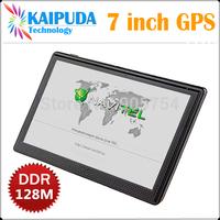 7 inch gps navigation,HD,MTK,DDR128M\4GB,FM,Russian\Czech\Hebrew\Bulgarian\Polish,Navitel(RU+UKR+BLR+KAZ),Car GPS Navigator