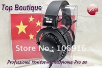 Boutique TAKSTAR/T&S PRO80 Closed Dynamic Stereo Headphones & Earphones Professional DJ Monitoring Hot