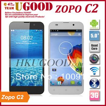 New Original ZOPO C2 Platinum MTK6589T Quad Core 1.5GHz Android 4.2 2GB RAM 32GB ROM 13.0MP Camera 5.0''  FHD Screen 1920*1080p