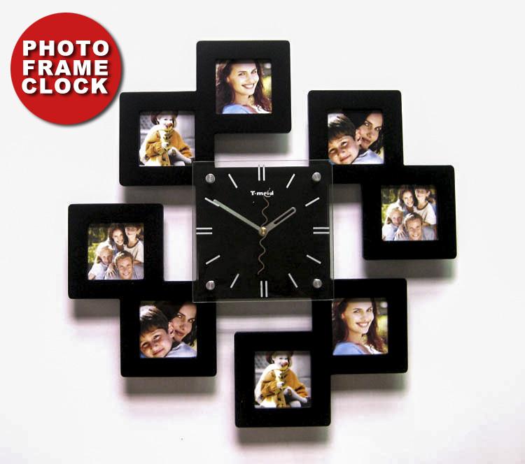Настенные часы с фото своими руками фото