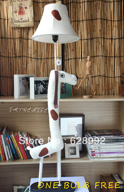 Arrival Cute Dalmatians Floor Lamp child floor lamp cute table lamp for bedroom(China (Mainland))