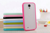 mobile phone shell  Frosted  TPU + PC   for samsung galaxy s4 i9500  free shipping