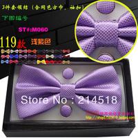 Free Shipping 2013 NEW Arrival fashion Mens Bow Tie,Imitation Silk Tuxedo Adjustable Neck Bowtie Bow Tie M060