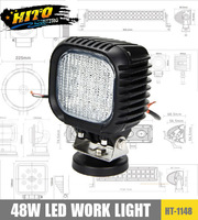 HITO 4000LM 48W square Cree LED Off Road head light work lights automotive leds lights for cars exterior lighting 4x4