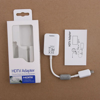 Original Brand new 2.0 Micro USB MHL to HDMI HDTV Adapter Cable For Samsung Galaxy S4 i9500 1pc/lot Free Shipping